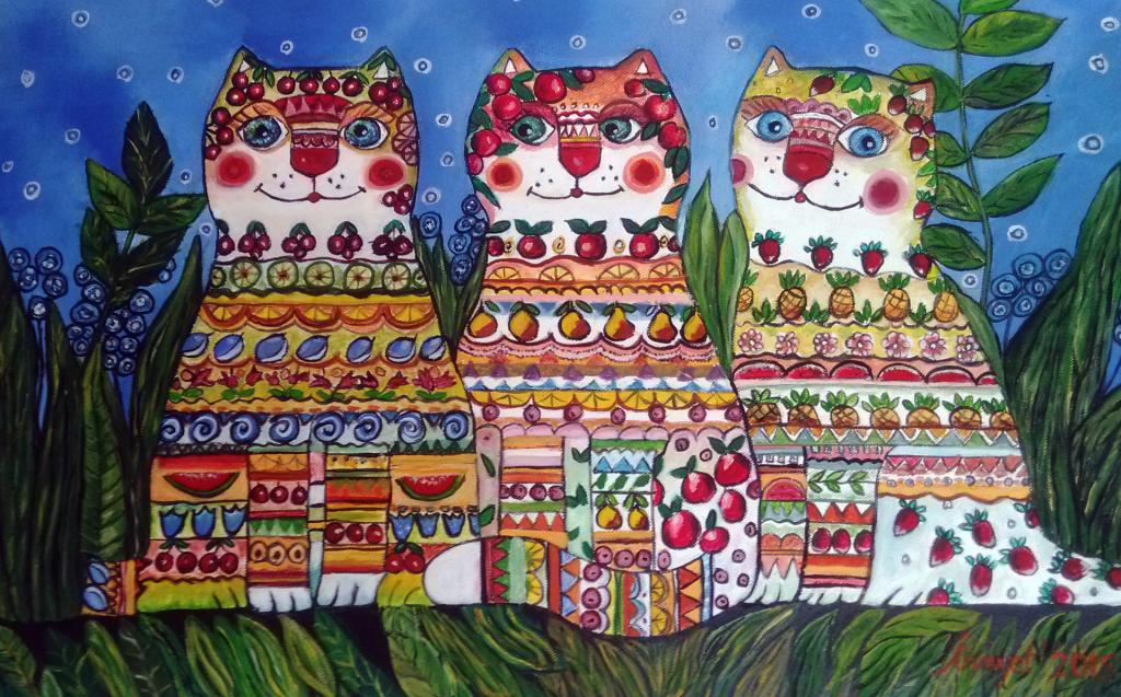Üçüz Kediler -